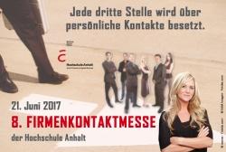 8. Firmenkontaktmesse an der Hochschule Anhalt