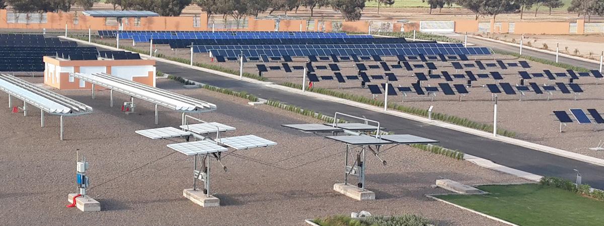 Wie altern Solarmodule in der Wüste?