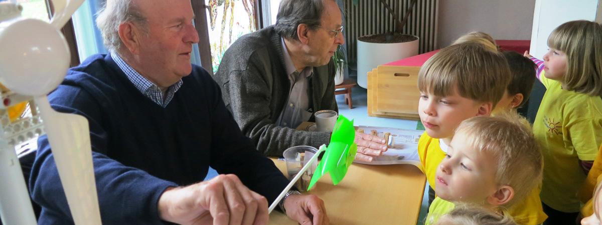 Gutes tun mit grünem Strom: Bad Kösener Sonnenscheinkinder entdecken die Energie