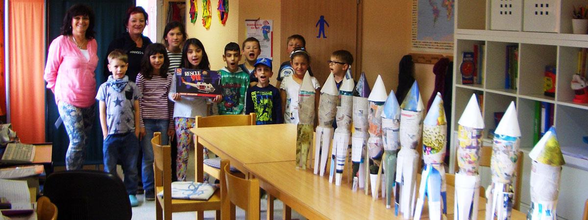 Wir bauen eine Rakete…