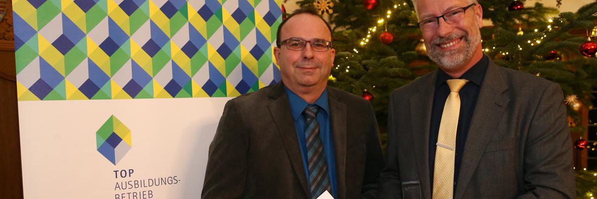 Auszeichnung der Industrie- und Handelskammer Halle-Dessau