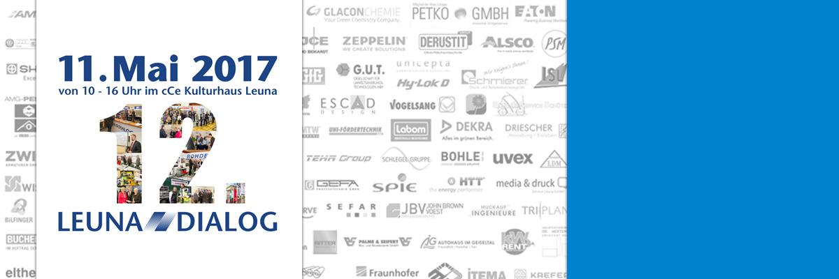 """Fachmesse """"Leuna – Dialog 2017"""": Unternehmen präsentieren ihr Leistungsspektrum am Chemiestandort Leuna"""
