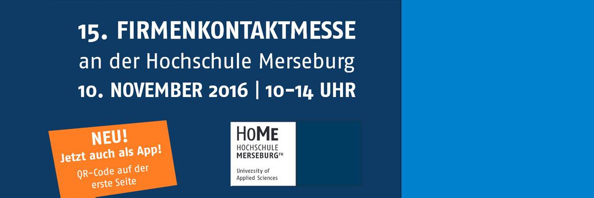 Firmenkontaktmesse an der Hochschule Merseburg