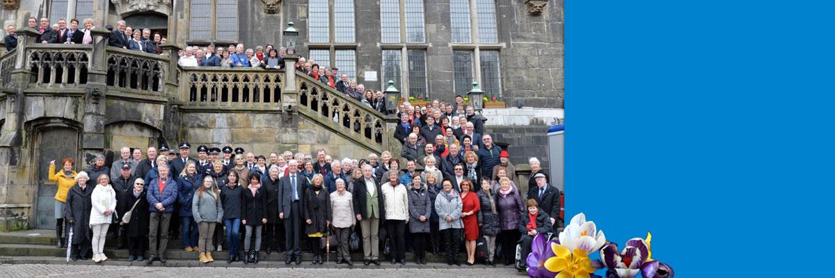 Bei Freunden zu Gast: 30 Jahre Städtepartnerschadt Aachen - Naumburg