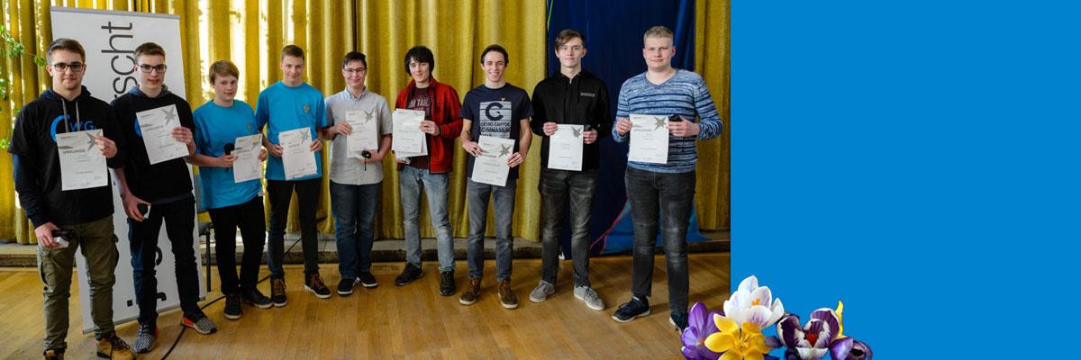 Jugend forscht Regionalwettbewerbe in Halle und Bitterfeld-Wolfen in der Sparte Technik mit interessanten Beiträgen