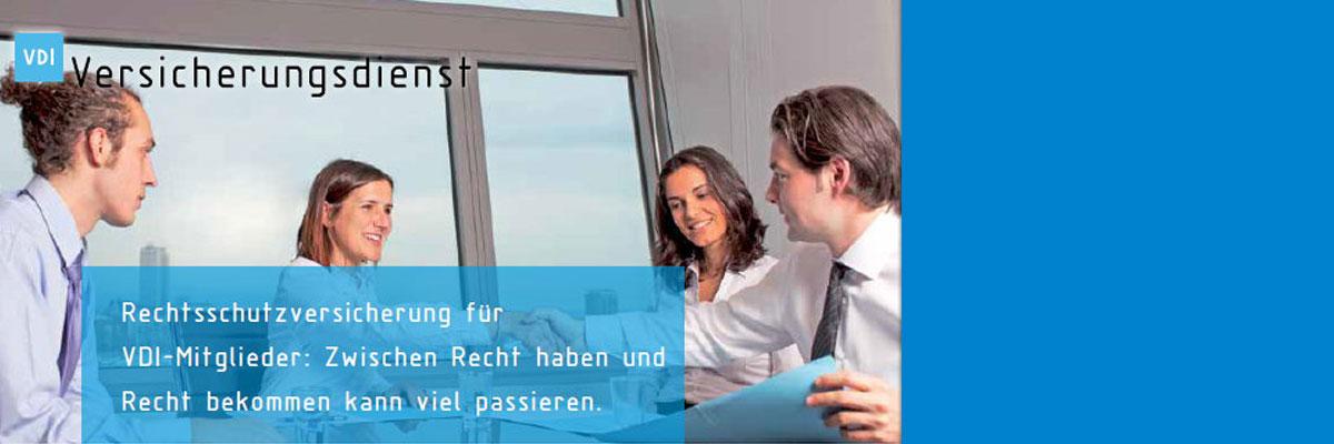 Rechtsschutzversicherung für VDI-Mitglieder: Zwischen Recht haben und Recht bekommen kann viel passieren.