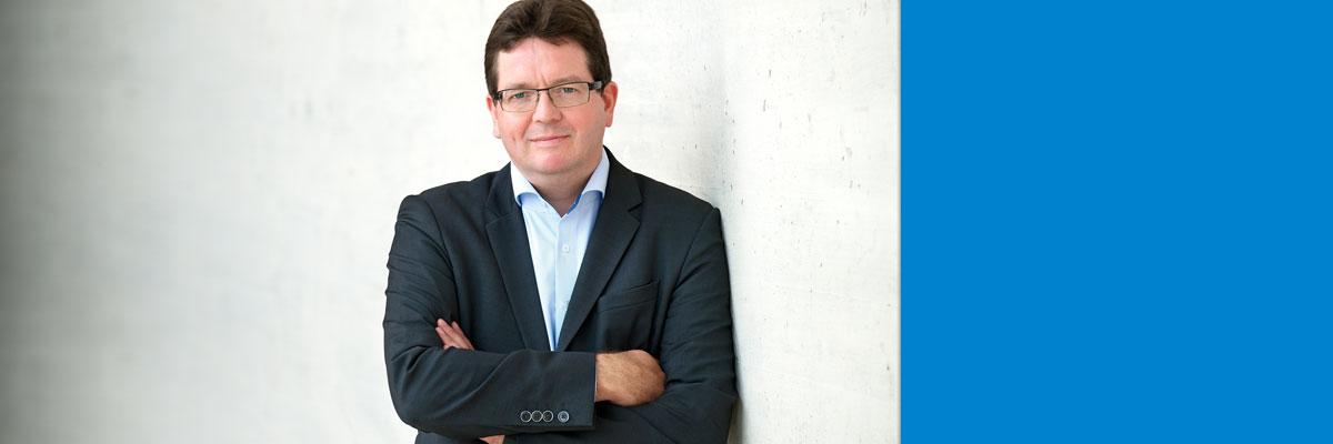 Neuer Rektor Christian Tietje an der Martin-Luther Universität Halle-Wittenberg im Amt