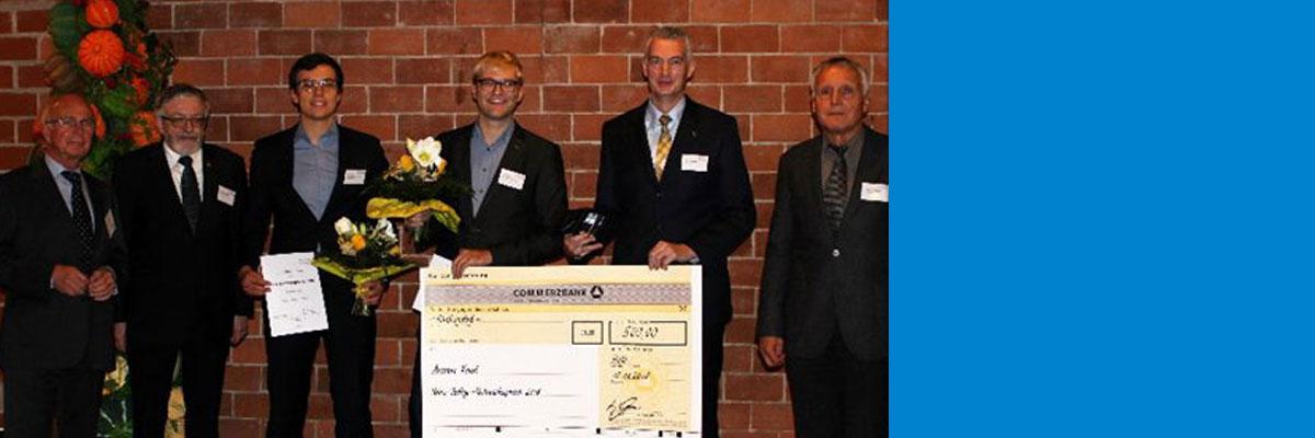 Armin Feist und Christian Hinte erhalten Auszeichnung der Heinz-Bethge-Stiftung für Elektronenmikroskopie