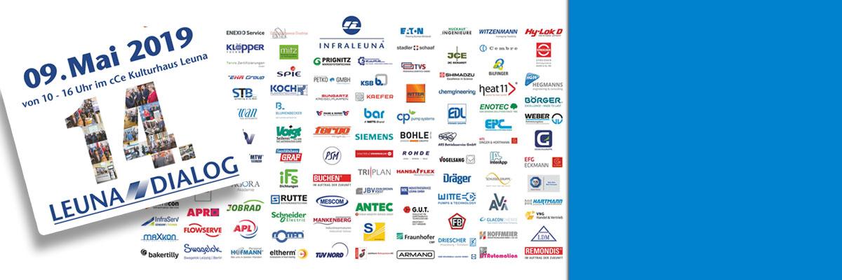 """Fachmesse """"Leuna – Dialog 2019"""": Unternehmen präsentieren ihr Leistungsspektrum am Chemiestandort Leuna"""