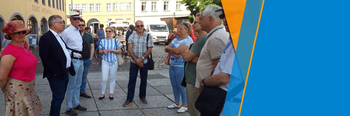 Besuch des Aachener BV in Naumburg an der Saale