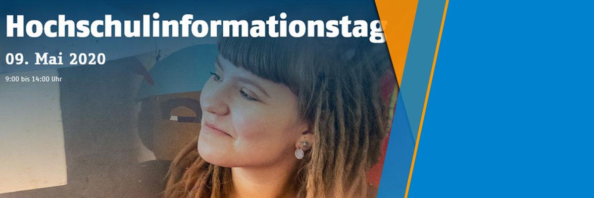 Hochschulinformationstag am 09. Mai 2020: Hochschule und Campus live erleben