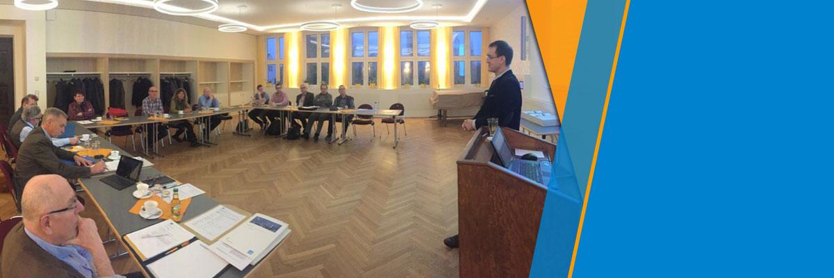 Sitzung des erweiterten Vorstandes in Alttröglitz, Industrie- und Chemiepark Zeitz