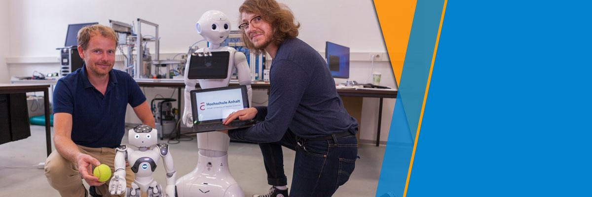 Künstliche Intelligenz: Humanoide Roboter ergänzen praxisnahes Studium